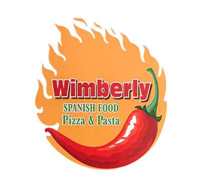 Wimberly Spanish Food Pizza & Pasta Logo