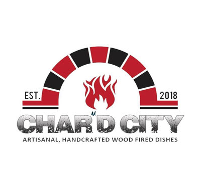 Char'd City Logo