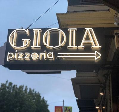 Gioia Pizzeria - San Francisco Logo
