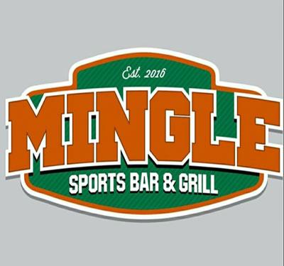 Mingle Bar & Grill Logo