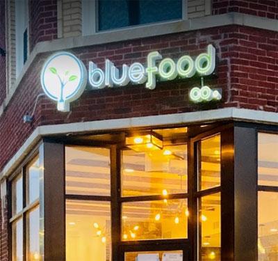 Blue Food Company Logo
