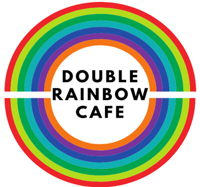 Double Rainbow Cafe Logo