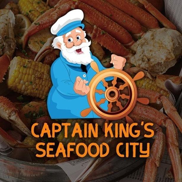 Captain King's Seafood City Logo