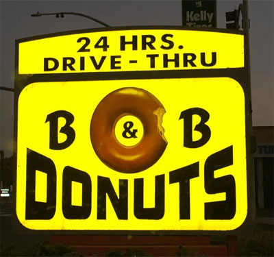 B & B Donuts Logo