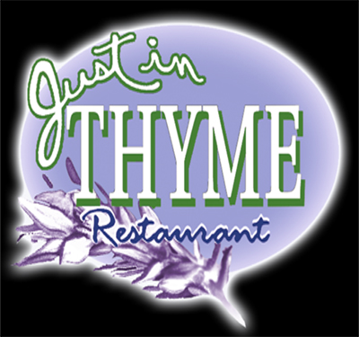 Just in Thyme Restaurant Logo
