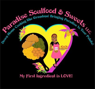 Paradise Soulfood & Sweets Logo