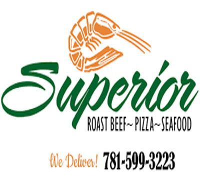 Superior Roast Beef Pizza & Seafood Logo