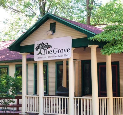 The Grove Restaurant Logo