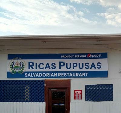 Ricas Pupusas Logo
