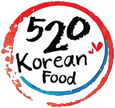 520 Korean Food Logo