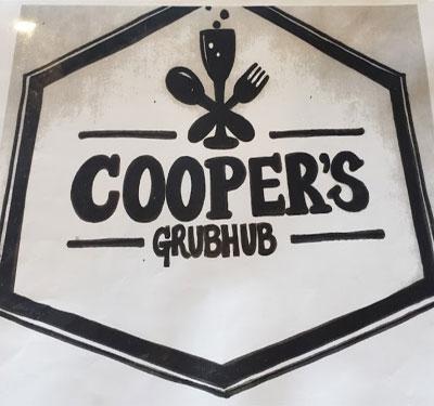 Cooper's Grubhub Logo