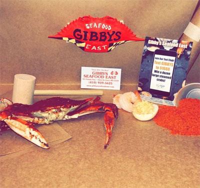Gibby's Seafood East Logo
