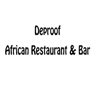 Deproof African Restaurant & Bar Logo