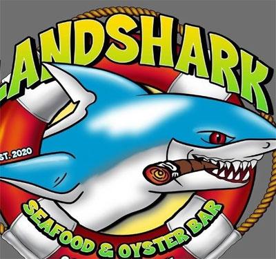 Landshark Seafood & Oyster Bar Logo