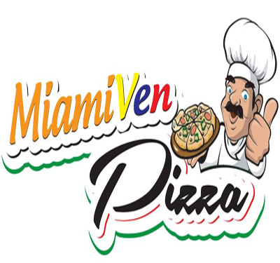 Miami Ven Pizza Logo