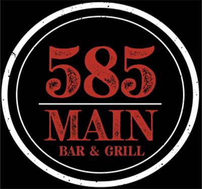 585 Main Bar & Grill Logo