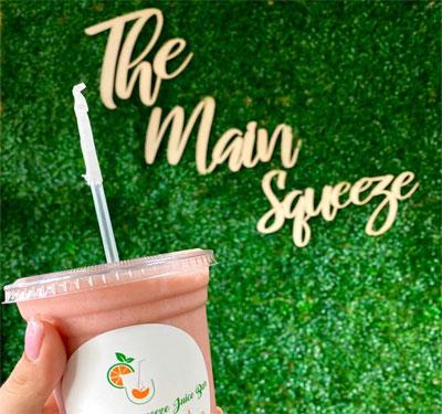 The Main Squeeze Juice Bar Logo