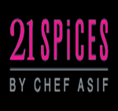 21 Spices by Chef Asif Logo