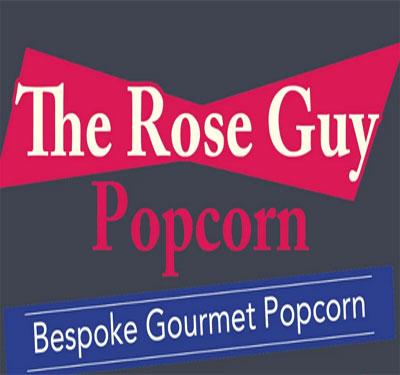 Rose Guy Popcorn Logo