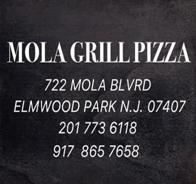 Mola Grill Pizza Logo