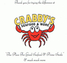 Crabby's Seafood & More Logo