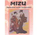 MIZU Japanese Sushi Restaurant Logo