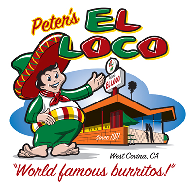 Peter's El Loco Logo