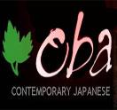 OBA Contemporary Japanese Logo