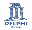 Delphi Greek Restaurant and Bar Logo