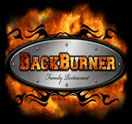 BackBurner Family Restaurant Logo
