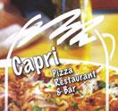 Capri Pizza Restaurant & Bar Logo