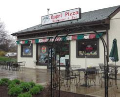 Capri Pizza Restaurant & Bar in Plumsteadville, PA at Restaurant.com