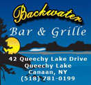 Backwater Bar & Grille - Temporarily Closed Logo