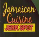 Jamaican Cuisine Jerk Spot Logo
