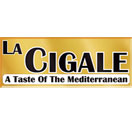 La Cigale A Taste of The Mediterranean Logo