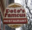 Pete's Famous Restaurant Logo