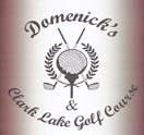 Clark Lake Golf Course Sports Bar Logo
