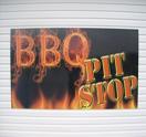 Bar-B-Q Pit Stop Logo
