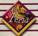 La Feria Authentic Mexican and Seafood Restaurant Logo