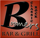 Boomers Classic Rock Bar & Grill Logo