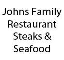 Johns Family Restaurant Steaks & Seafood Logo