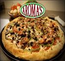 Aroma's Pizza Logo