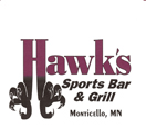 Hawk's Sports Bar and Grill Logo