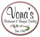 Vona's Restaurant & Banquet Facility Logo