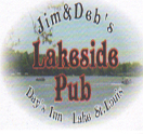 Jim & Deb's Lakeside Pub Logo