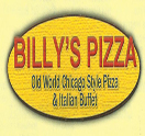Billy's Pizza Logo